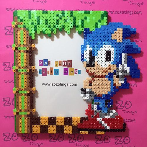 Sonic the Hedgehog Pixel Photo Frame