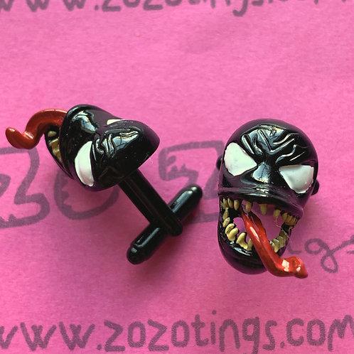 Venom Metal Cufflinks