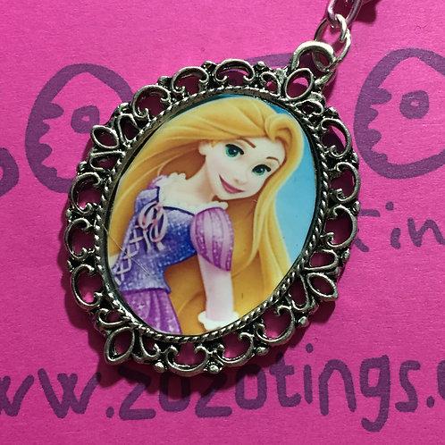 Rapunzel Vintage Pendant