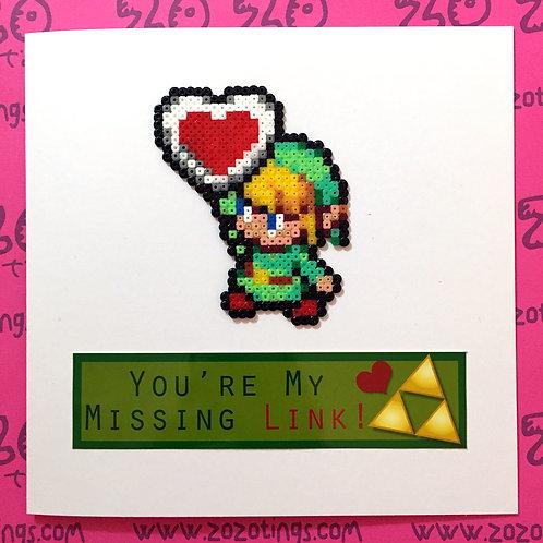 Zelda Valentine's Day Card