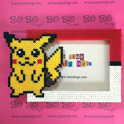 Pokemon Pikachu Pixel Photo Frame