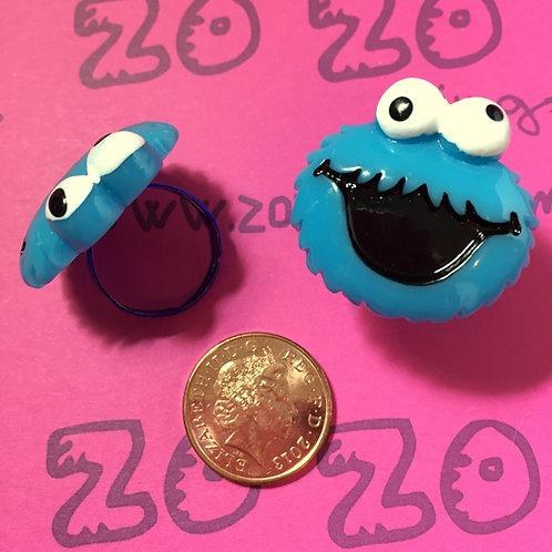 Cookie Monster Rings
