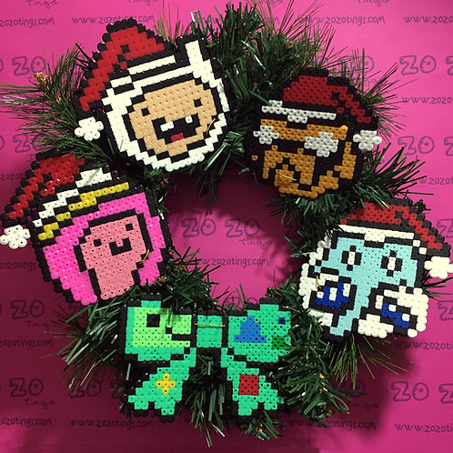 Adventure Time Christmas Wreath