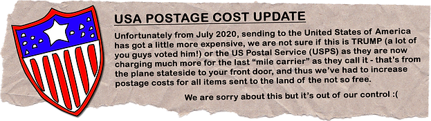 USA Postage Cost Update