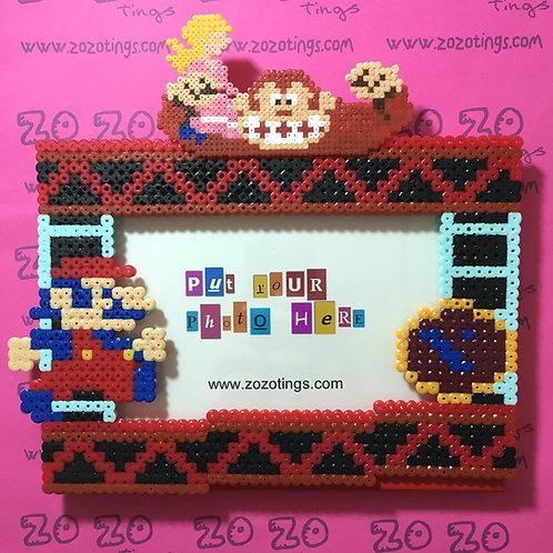 Donkey Kong Pixel Photo Frame