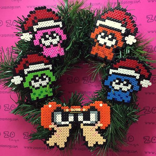 Splatoon Christmas Wreath