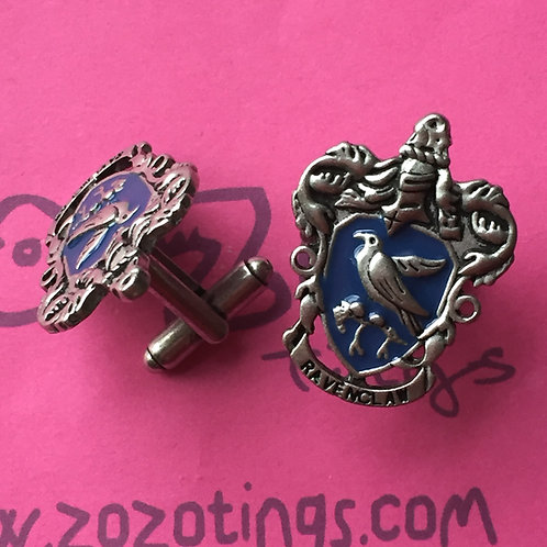 Harry Potter House Ravenclaw Metal Cufflinks