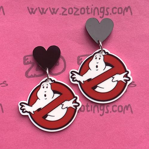 Ghostbusters Stud Earrings
