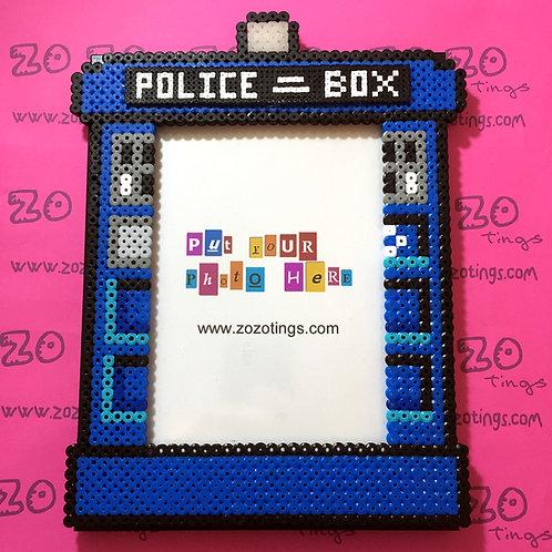 Doctor Who Tardis Pixel Photo Frame