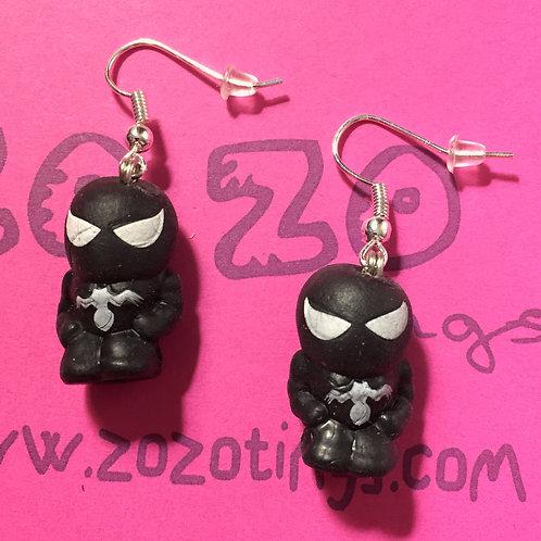 Venom Squinkie Earrings