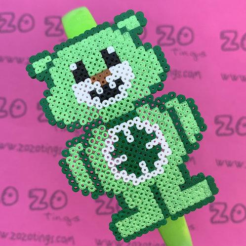 Good Luck Bear Pixel Headband