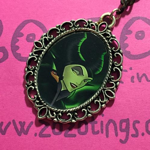 Maleficent Vintage Pendant
