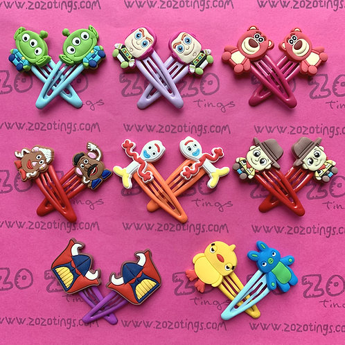 Toy Story Snap Hair Clips
