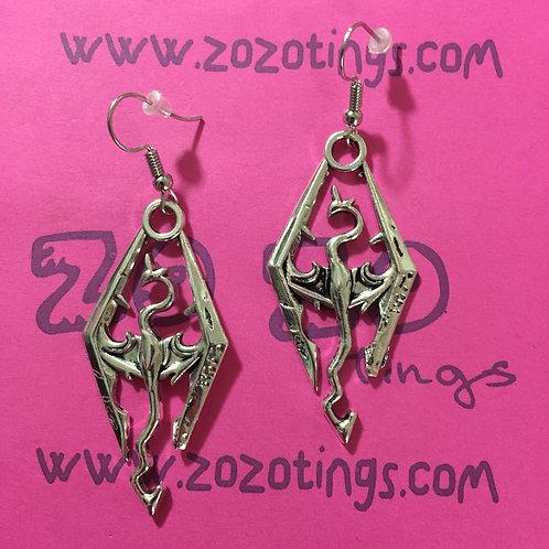 The Elder Scrolls 'Skyrim' Metal Earrings