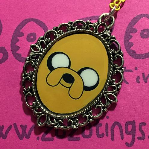 Adventure Time Jake Vintage Pendant