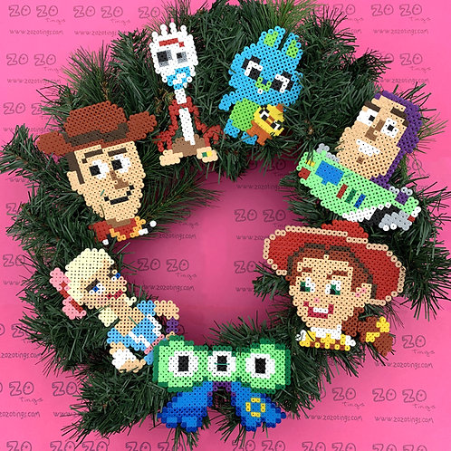 Toy Story Christmas Wreath