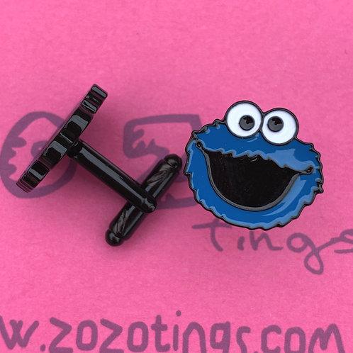 Cookie Monster Metal Cufflinks