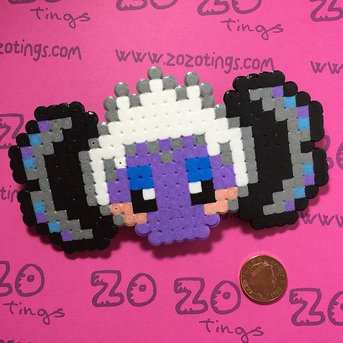 Ursula Pixel Hair Bow