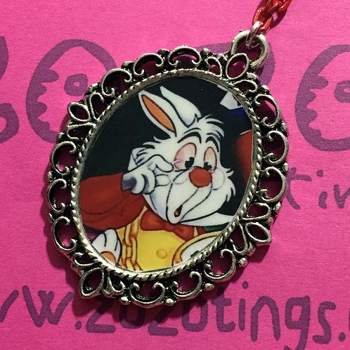 White Rabbit Vintage Pendant