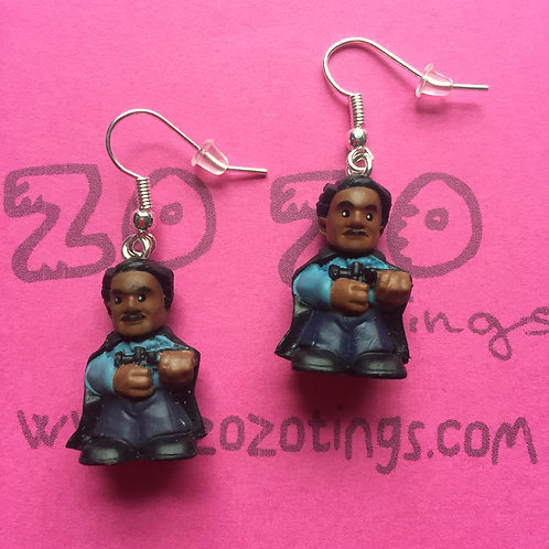 Star Wars Lando Calrissian Fighter Pod Earrings