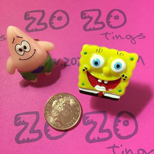 SpongeBob & Patrick Rings