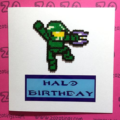Halo 'Master Chief' Birthday Card