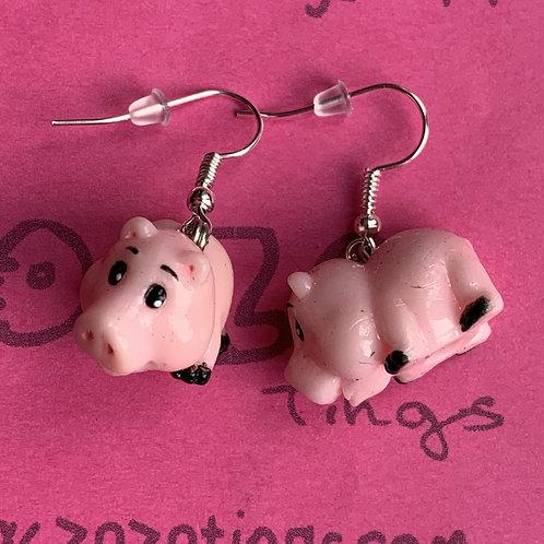 Toy Story Hamm Earrings