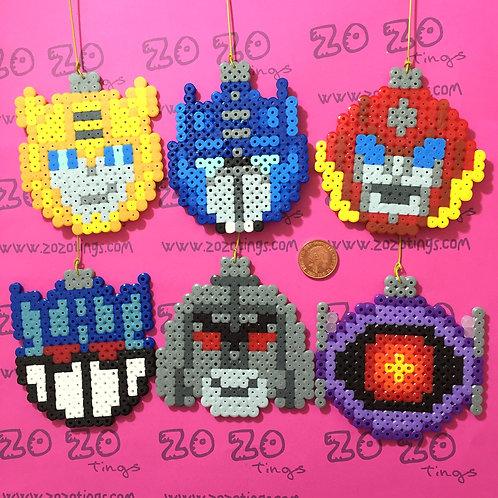 Transformers Pixel Baubles