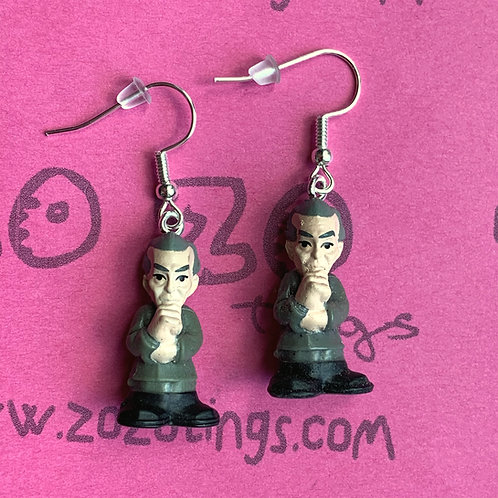 Star Wars Governor Grand Moff Tarkin Fighter Pod Earrings