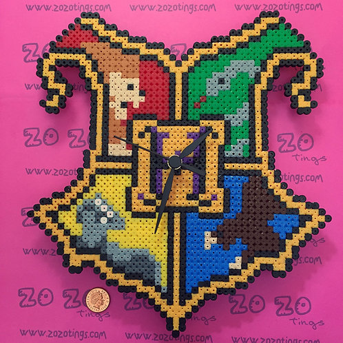 Harry Potter House Pixel Clock