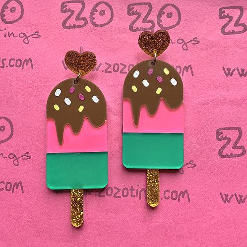 Yummy Lollipop Stud Earrings