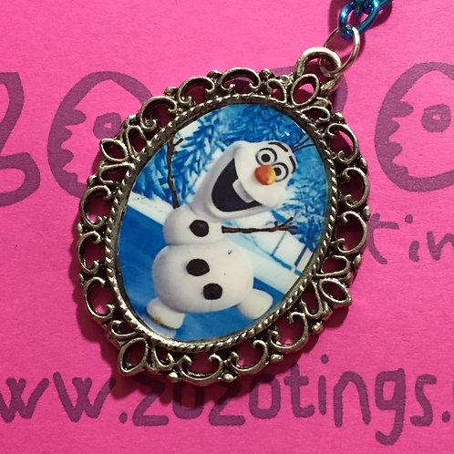 Frozen Olaf Vintage Pendant