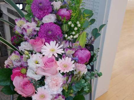 女子美同窓会神奈川支部展 学長小倉文子展無事終了しました♪プロのユチューバー様が撮影した動画が配信されてます♪ぜひご覧くださいとてもきれいです♪