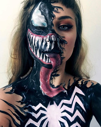 31 Venom 💀 _Face inspired by _fx_freak
