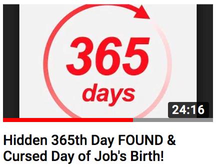 Enoch Calendar 365th Day