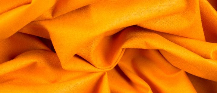 Lenzuola Colore Arancione