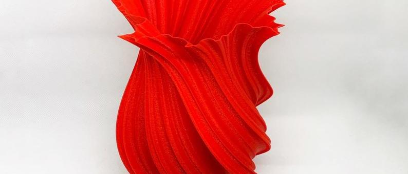 Vaso decorativo sostenibile
