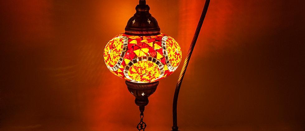 Lampada Mosaico a Cigno