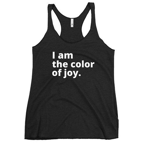 I am the color of joy tank