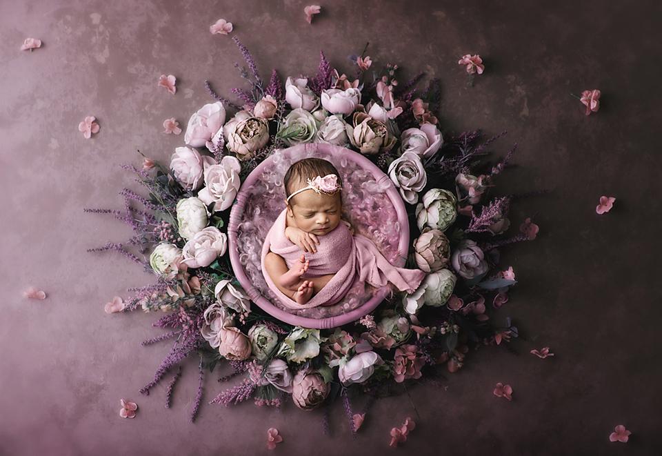 Flower baby set up