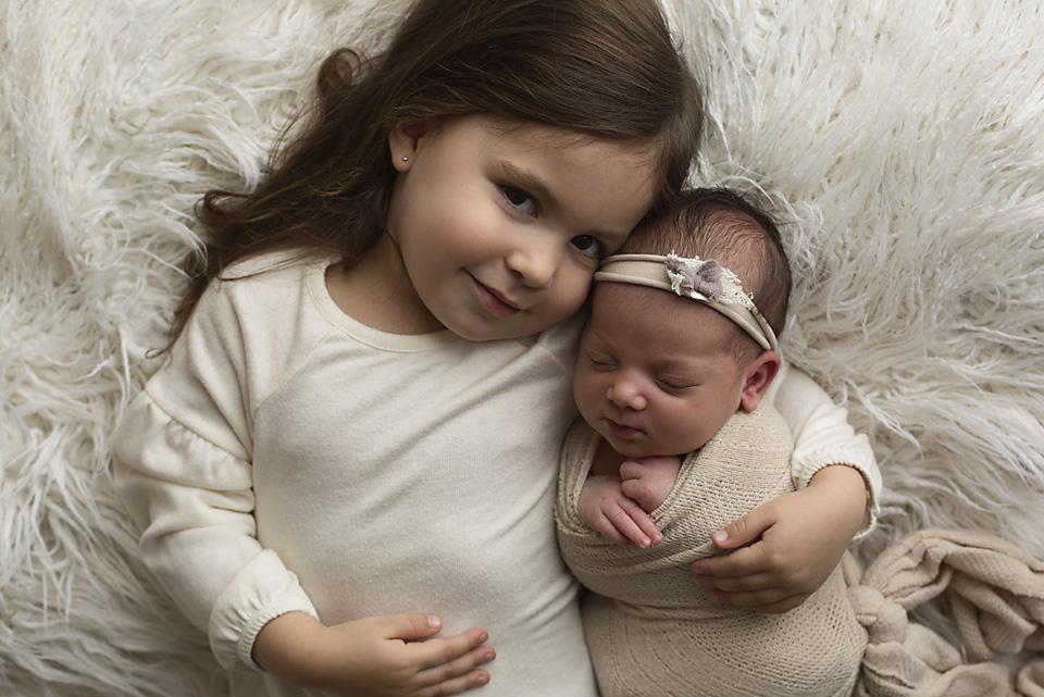 Calgary newborn family