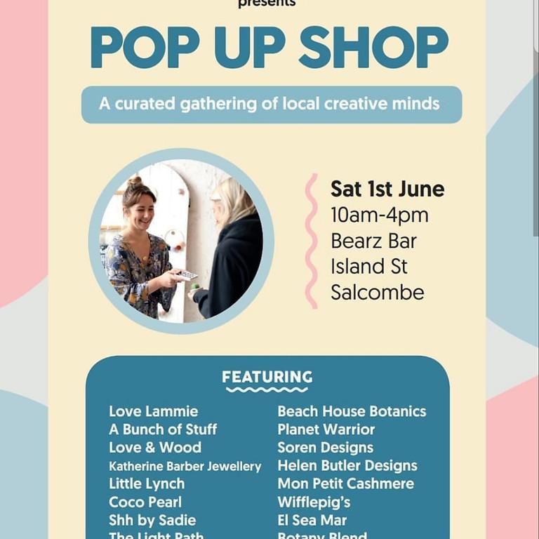 Pop up shop hosted by Headcake.