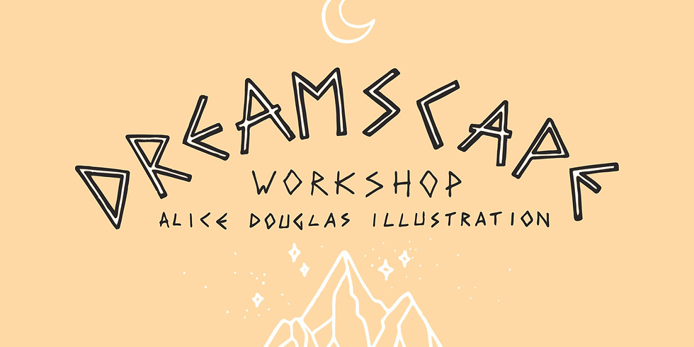 A half day workshop run by South west illustrator Alice Douglas