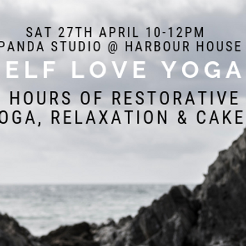 2 hours of blissful restorative yoga, meditation and relaxation