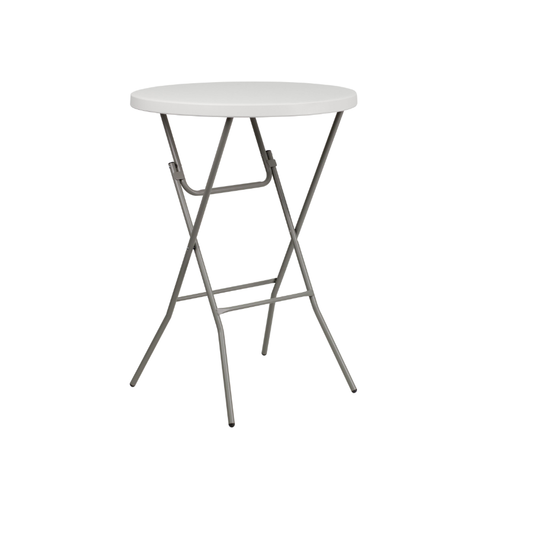 White Cocktail Bar Height Table.png