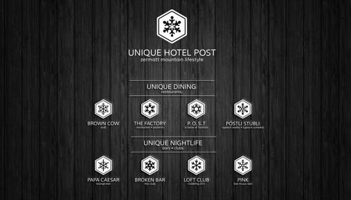 Unique Hotel Post, Zermatt