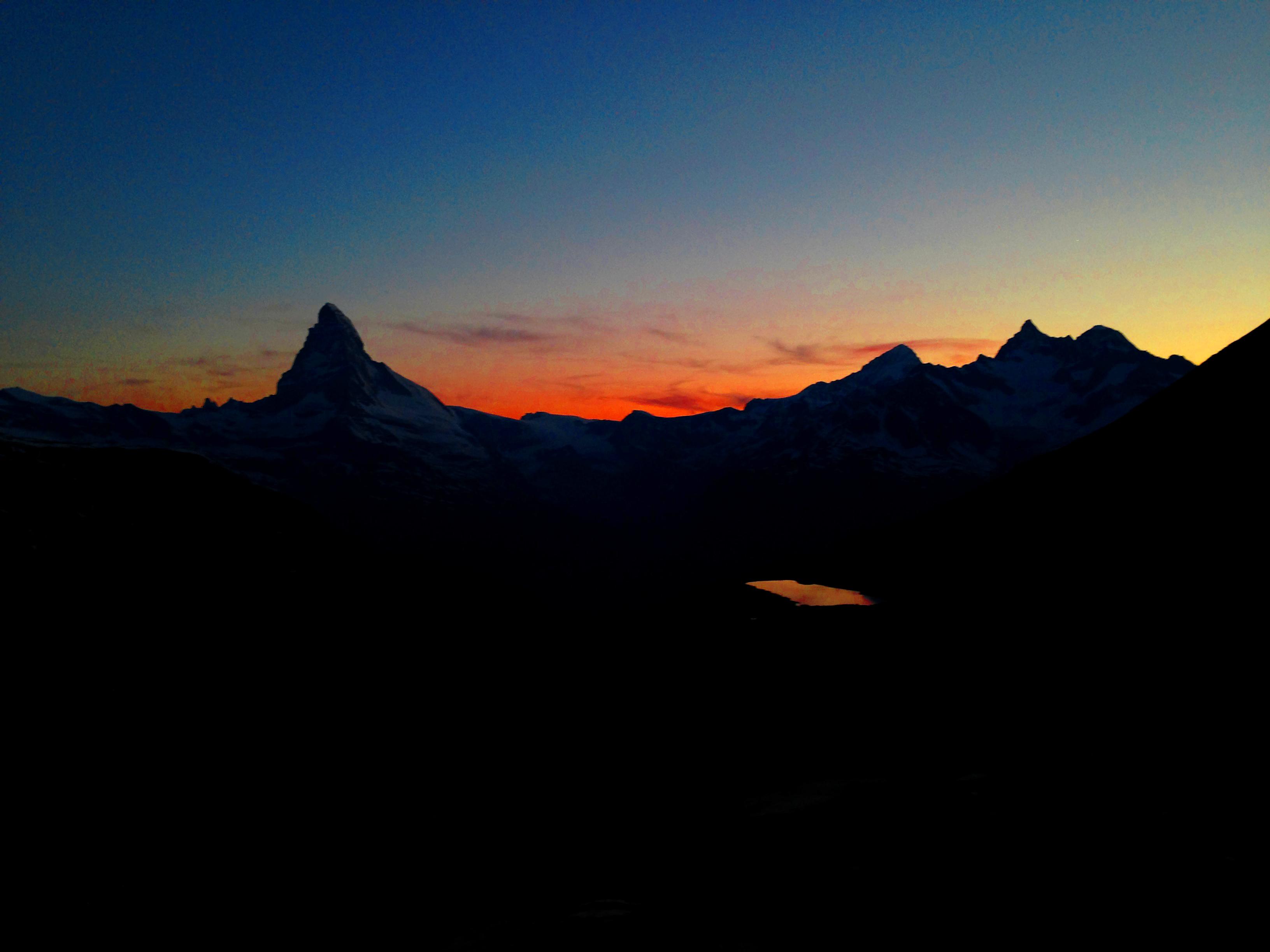 Matterhorn Abendrot