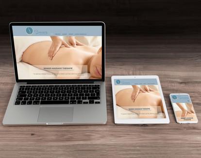 Webdesign für Senses Massage Therapie in Ostermundigen