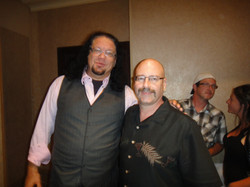 Sly with Penn Jillette