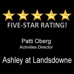 5 star ashley at landsdowne
